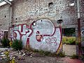 Glasgow. Cowlairs. Derelict industry building. Carlisle Street. Graffiti.jpg