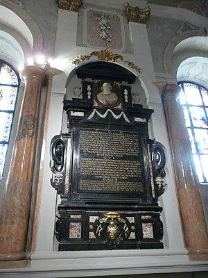 Maciej Łubieński - Burial monument of Mathias Lubienski (Maciej Łubieński) inside Gniezno Cathedral