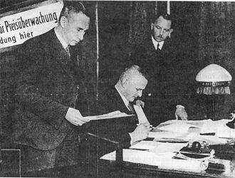 Carl Friedrich Goerdeler - Goerdeler as Price Commissioner, 1934