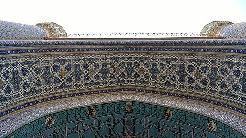 صحن ورودی مسجد گوهرشاد