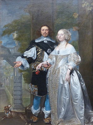 Margaret Cavendish, Duchess of Newcastle-upon-Tyne - Margaret Cavendish and her husband
