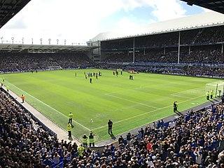Goodison Park Football stadium in Liverpool