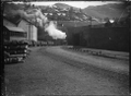 Goods train leaving Lyttelton; Class T locomotive, ca 1904 ATLIB 272857.png