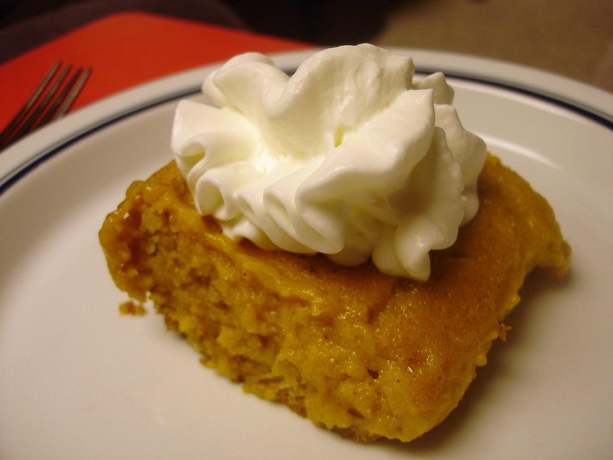 Ingredient Pumpkin Cake Mix