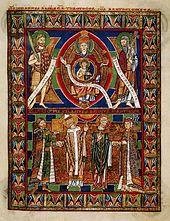 Hermann Josef Abs - Der Mann der das  Evangeliar Heinrichs des Löwen  wiederbeschafte 170px-Gospels1