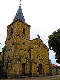Gouraincourt L'église Saint-Martin.JPG