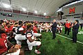 Governor Visits University of Maryland Football Team (36782711231).jpg