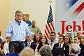 Governor of Florida Jeb Bush at TurboCam, Barrington, New Hampshire on August 26th by Michael Vadon.jpg