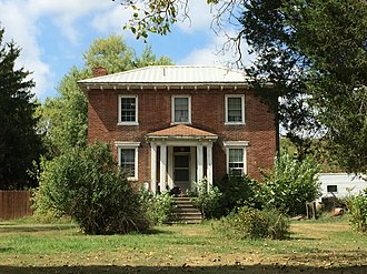 Donaldson, Hampshire County, West Virginia - Gower House (c. 1830s)