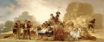 Goya y Lucientes, Francisco - The Threshing Floor - Google Art Project.jpg