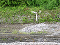 Gradient marker on platform 1 Matlock station 26, May, 2011.jpg