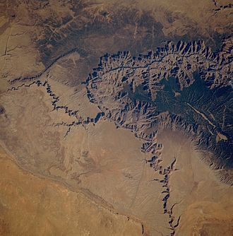 STS-61-A - The Grand Canyon from orbit