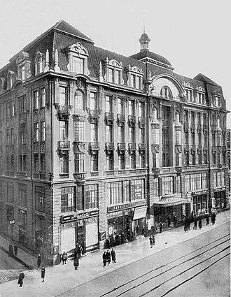 Piotrkowska Street - The Grand Hotel, Piotrkowska Street 72