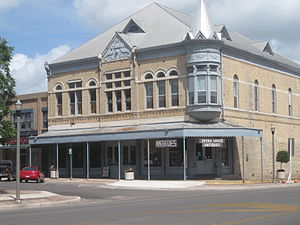 Uvalde, Texas - Janey Slaughter Briscoe Grand Opera House in Uvalde, restored by the late Governor and Mrs. Dolph Briscoe