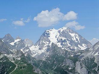 Vanoise National Park - Image: Grande Casse (3855m)