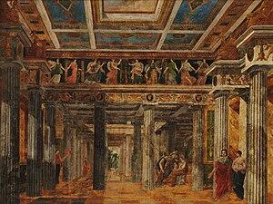 Auguste-Henri-Victor Grandjean de Montigny - Image: Grandjean de Montigny Área romana