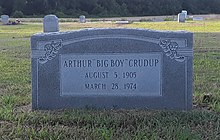 "Grave of Arthur ""Big Boy"" Crudup.jpg"