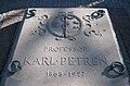 Grave of karl petrén lund sweden 2008.JPG