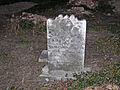 Gravestone in southeast Herkimer County, New York.jpg