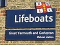 Great Yarmouth and Gorleston lifeboat station sign - geograph.org.uk - 1097853.jpg