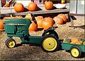 Green Spot Farm, Pedal Tractor 10-26-13 (10561276776).jpg
