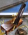 Gregorian telescope mounted on its original box, owned by Edward Holyoke, Harvard President, English, c. 1710 - Putnam Gallery - Harvard University - DSC08047.jpg