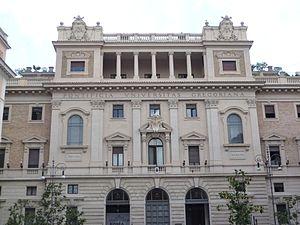 English: Rome, Pontifical Gregorian University...