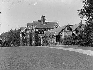 Gregynog Hall - Image: Gregynog Hall, Tregynon (1293366)