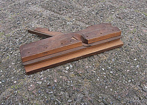 Grooving plane - Plane used to make tongues and grooves