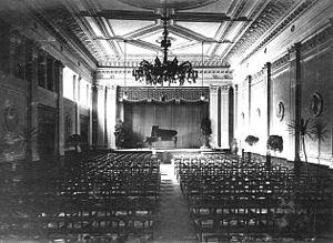 Grotrian-Steinweg - The Grotrian-Steinweg Concert Hall in Braunschweig