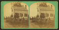 Group portrait of people in front of a house, from Robert N. Dennis collection of stereoscopic views.png