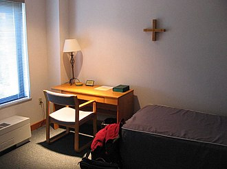 Abbey of Our Lady of Gethsemani - Guest quarters