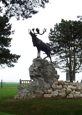 Gueudecourt (Newfoundland) Memorial - Image: Gueudecourt (Newfoundland) Memorial