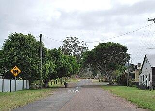 Gundiah Town in Queensland, Australia