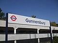 Gunnersbury station signage.JPG