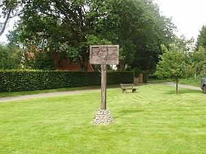 Gunthorpe, Norfolk - Image: Gunthorpe Village Sign