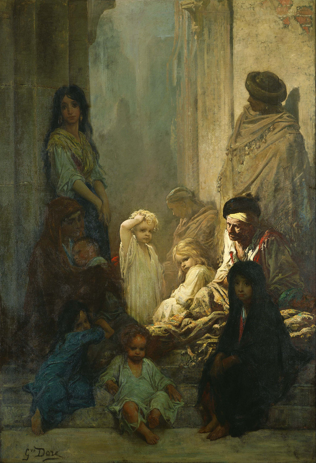 Gustave Dore - La Siesta, Memory of Spain - Google Art Project