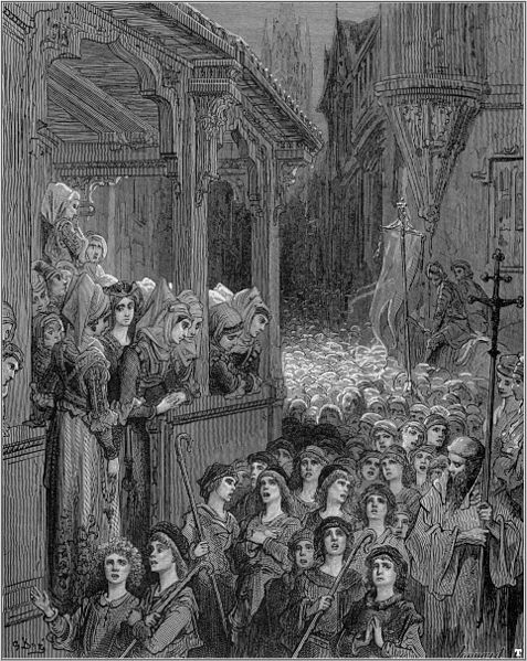 File:Gustave dore crusades the childrens crusade.jpg