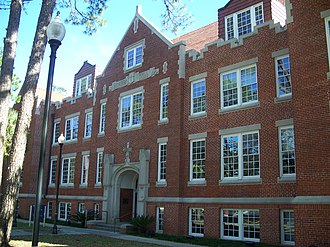 Anderson Hall (Gainesville, Florida) - Image: Gville UF Anderson 05