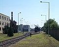 Győr-Szol Zrt. Rozgonyi utcai telep, vasúti váltók, 2018 Győr.jpg