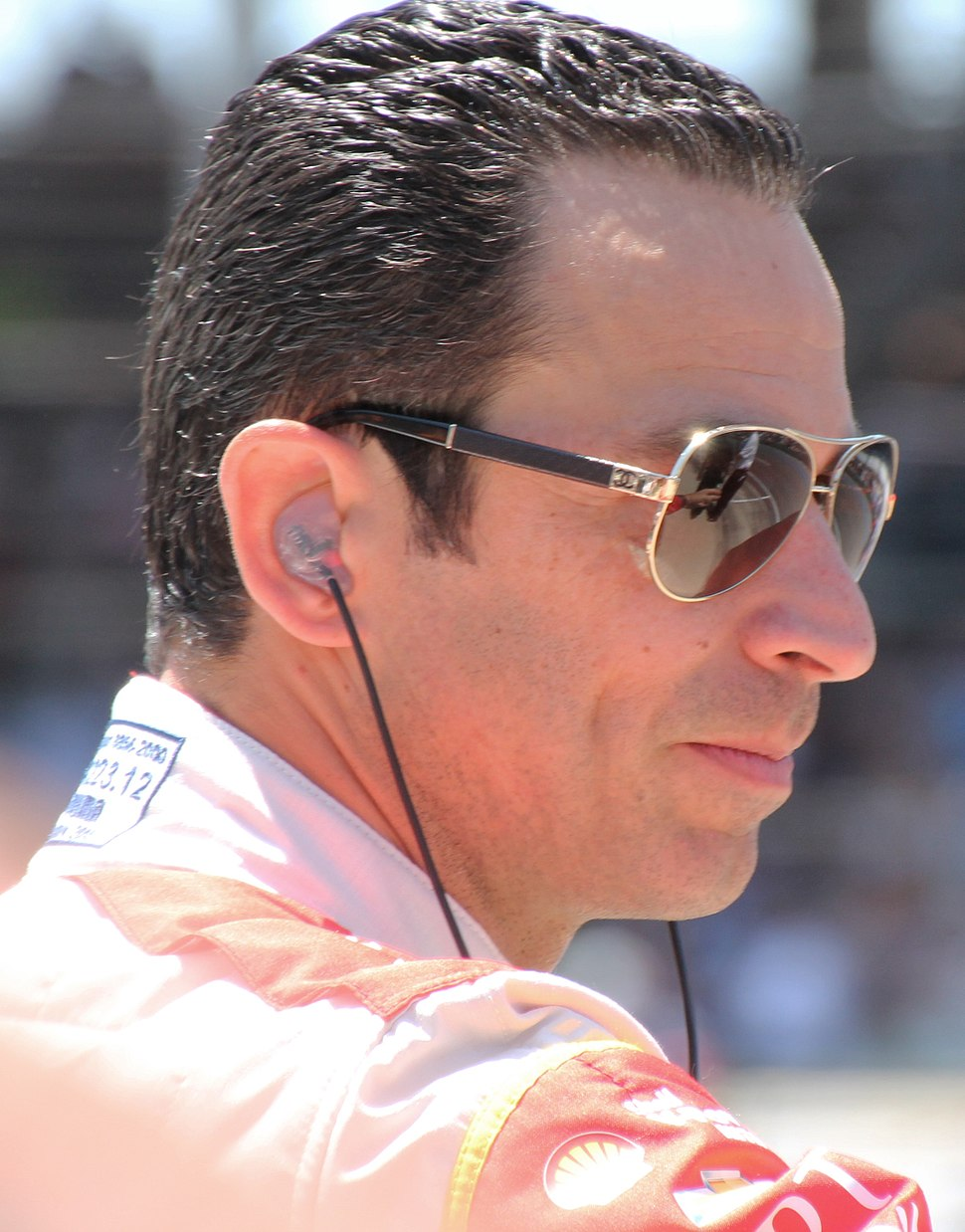 Hélio Castroneves at Pit Stop Challenge - 2015 - Stierch