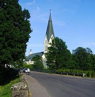 Högsby Place in Småland, Sweden