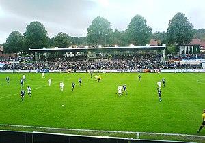 Halmstad - Halmstads BK versus Gefle IF at Örjans Vall 2007.