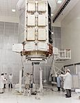 HEAO-1 Assembling the High Energy Astronomy Observatory 8003533.jpg