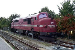 DSB Class MX - Image: HFHJ mx 16