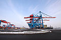 HHLA Container Terminal Altenwerder (CTA) in Hamburg - Winter 2010 - 02.jpg