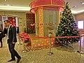 HK 新紀元廣場 Central Grand Millennium Plaza lift lobby interior 上環 Sheung Wan Xmas tree Nov-2013 visitors.JPG