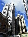 HK Sai Ying Pun Third Street 宜豐閣 Yee Fung Court 祫新大廈 Yue Sun Mansion facades July-2012.JPG