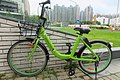 HK TKL 調景嶺 Tiu Keng Leng 翠嶺路 Chui Ling Road GobeeBike sharing bicycle parking July 2018 IX2 002.jpg