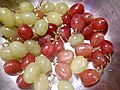 HK food 生果 fruit 葡萄子 Grapes texture red green July 2017 Lnv2 02.jpg